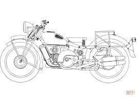 Moto Guzzi Alice Kleurplaat Gratis Kleurplaten Printen