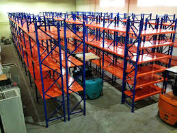 Powder Coating Racks Suppliers Powder Coated Ultima Longspan Shelving Durable Metal Storage Racks 1