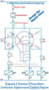 3 phase starter wiring diagram wiring diagram schematics 2 speeds 1 direction 3 phase motor power and control diagrams