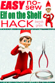 make your elf on the shelf posable without sewing this tutorial will guide you through