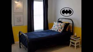 Batman Bed Frame For Sale Bedroom Wallpaper Uk Logo Wall Decal Boy Themes  Blue Color Code ...