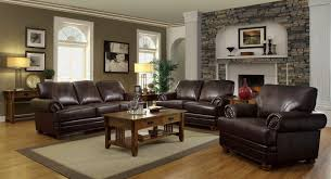 Living Room Decorating With Leather Furniture Living Room Decorating Ideas With Brown Leather Furniture