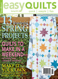 Easy Quilts Spring 2016 - Fons & Porter - The Quilting Company & Easy Quilts Spring 2016 – Fons & Porter Adamdwight.com