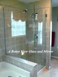 frameless shower door installation cost shower enclosures install glass enclosure supply call door installation cost estimate