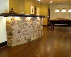 exciting traditional basement with bar design also cool bar table with stone accent comely bar light ideas also elegant billiard pool also rustic laminate basement bar lighting ideas