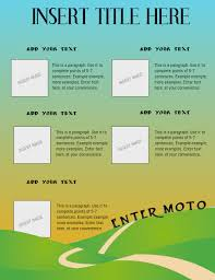 Professional Informational Poster Template Postermywall
