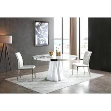 contemporary dining table set cabaret modern white round dining table modern dining room furniture uk