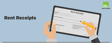 Rent Receipt Form Inspiration Everything You Need To Know About Rent Receipts HR Block India