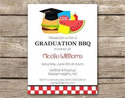 Graduation Lunch Invitation Wording Graduation Menu Invitation Example High School Announcements