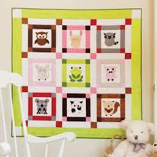 GO! Talk To The Animals Baby Quilt Pattern | accuquilt.com & Talk To The Animals Baby Quilt Pattern (PQ10509) Adamdwight.com