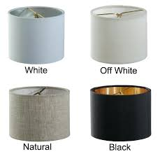 onepre black lamp shades with gold lining clip on light shades candle chandelier lampshades