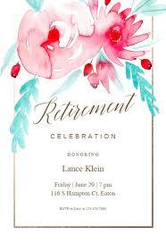 Retirement Invitations Free Retirement Farewell Party Invitation Templates Free