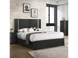 Evenson Contemporary King Low Profile Bed by Royal Fair at Ruby Gordon Home