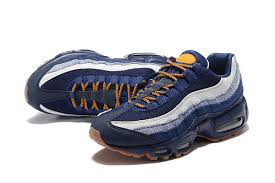 gucci 95s. new nike air max 95 essential men shoes dark blue gold yellow 1595 for sale gucci 95s