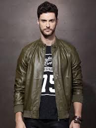 mens olive green leather jacket cairoamani com