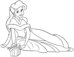 Small Picture Coloring Pages Disney Princess Ariel Coloring Pages Printable