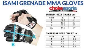Mma Gloves Size Chart Sengoku Mma Gloves In 2018 Mixed Martial Arts Pinterest