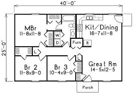 1000+square+foot+house+plans | 1000 Square Feet 3 Bedrooms 2 Batrooms On  Levels House Plan
