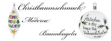 Christbaumschmuck Moderne Baumkugeln Deko Unlimited