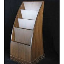 Wooden Book Stand For Display Delectable Magazine Display Stand Magazine Display मैगजीन