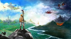 the legend of zelda breath of the wild hd wallpaper hd