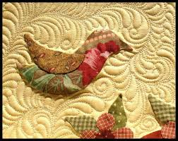 58 best Quilting around appliqué images on Pinterest | Free motion ... & Quilting Day Adamdwight.com
