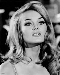 barbara bouchet hair hairstyle waves makeup 1960s vine