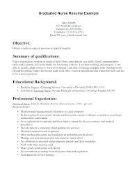 Nurse Resume Simple New Grad Nursing Resume Templates Template Resume Nurse Resume