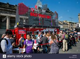 edinburgh fringe festival box office. The Virgin \u0027Half Price Hut\u0027 At Mound Selling Budget Tickets For Shows During Edinburgh Fringe Festival Box Office H
