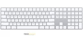Bàn phím Magic keyboard 2 (có phím số) - Màu Trắng