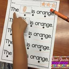 Color Words {Reading and Writing Practice- Color Words Posters ...