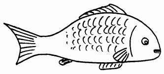 fish clipart black and white. Interesting White Letters Format Fish Clipart Black And White Intended Clipart Black And White H