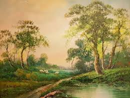 r danford 20th century country landscape painting country landscaping landscaping and paintings