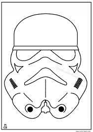 Small Picture Star Wars coloring pages printable