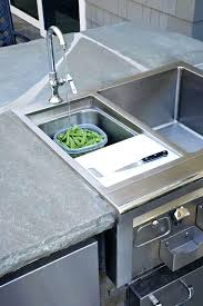 outdoor kitchen sink no plumbing. outdoor kitchen sink drain stout design no plumbing i
