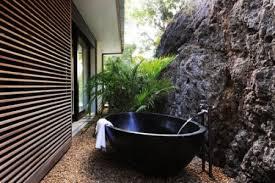 outdoor japanese soaking tub. stunning black outdoor tub japanese soaking