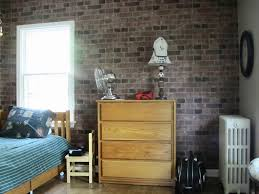 brick bedroom furniture. Teen Boy Beds With Simple Wooden Single Bed And Rustic Brick Wall Decor For Boys Bedroom Furniture A