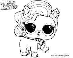 Awesome Lol Doll Coloring Pages Free To Print Get Coloring Page