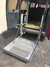 wheel chair lift for van. Ricon U6-3240 Van Wheel Chair Lift Works 100% Comes With Everything! For