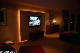 rope lighting ideas. Entertainment Center Lighting Ideas With Para Rope Bedroom
