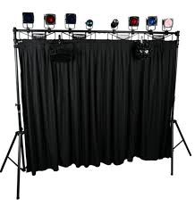 diy portable stage small stage lighting truss. Diy Lighting Truss. Dj Skirts Djstc10 10ft Truss Curtain Portable Stage Small