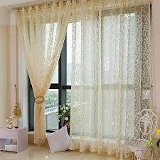 Patterned Curtains Living Room Popular Sheer Patterned Curtains Buy Cheap Sheer Patterned