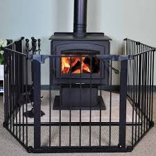hearthgate child guard fireplace screen