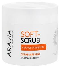 <b>Скраб</b> для тела <b>Soft</b>-<b>Scrub</b> от <b>Aravia</b> Professional с доставкой по ...