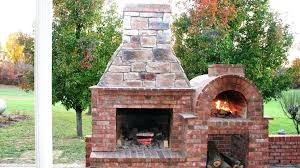 cost to build outdoor brick fireplace making your own how oven stone