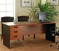 chrome office desk. desk large size of interesting rectangle brown wooden office small space combine with chrome