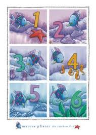 marcus pfister collection of books on the rainbow fish