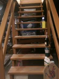 What Is Required To Enclose And Finish My Basement Stairs Home - Unfinished basement stairs