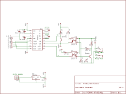 evdl library evil bus to rs232 interface schematic apparently designed by aaron birenboim as distributed on the evdl