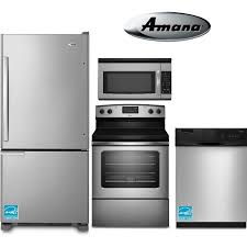 Amana 4-piece Electric Stainless Steel Appliance Package | RC Willey  Furniture Store